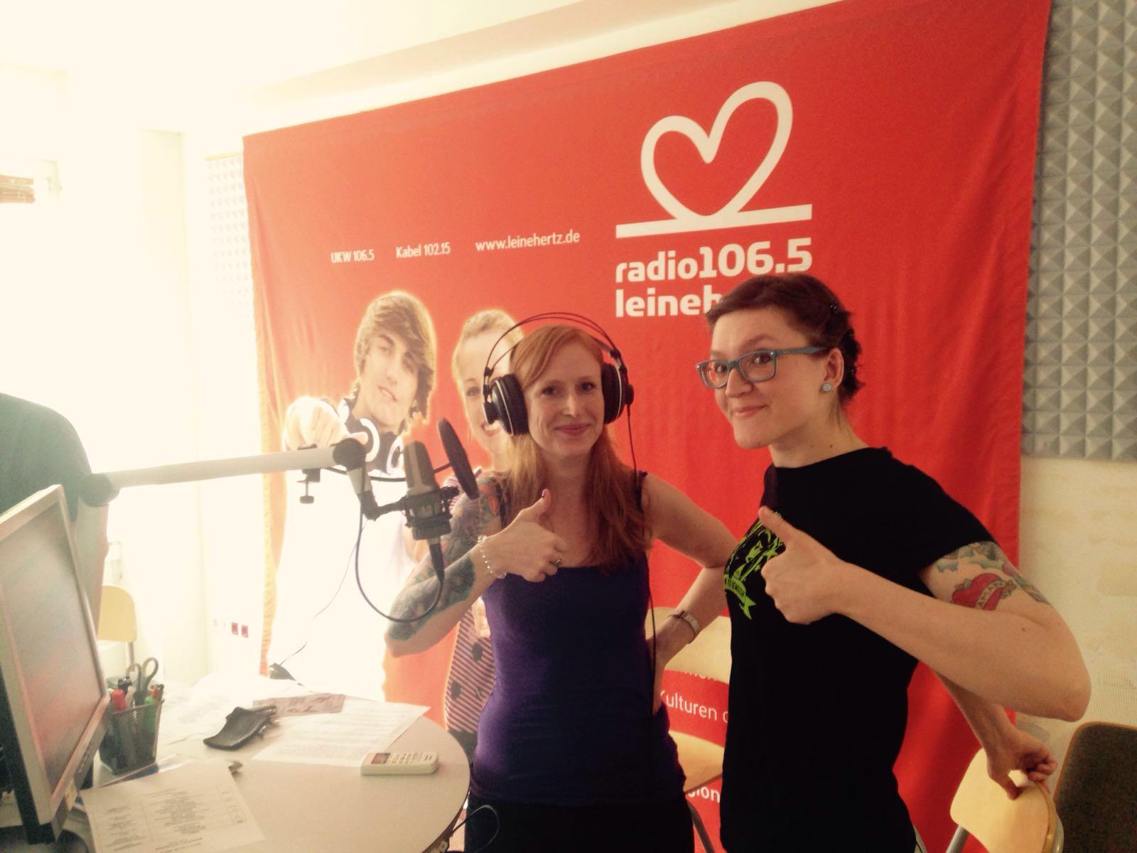 Rollerderby Hannover bei Radio LeineHertz