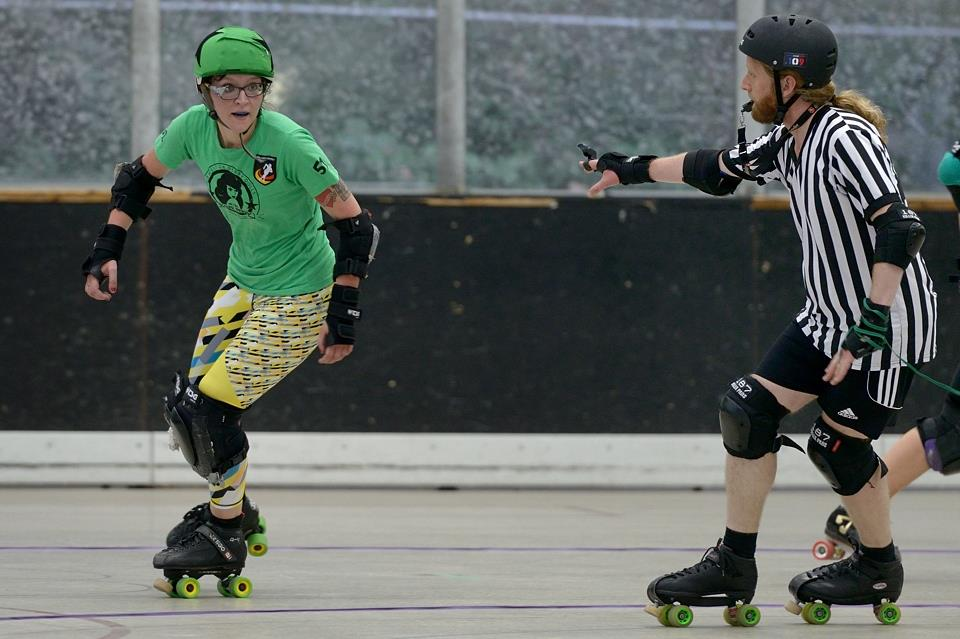 Werde Rollerderby Referee in Hannover