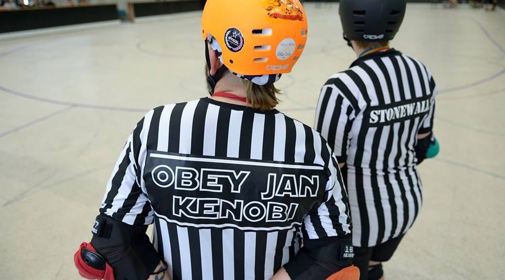 Rollerderby Hannover sucht Referees - Foto: Michael Wittig